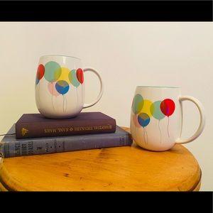 David's tea balloon coffee mugs